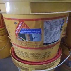 White Sika Raintite Waterproofing Chemicals, Packaging Size: 20kg
