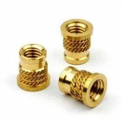 Golden Round Brass Insert, Packaging Type: Cartoon, Size: 4m to 20m