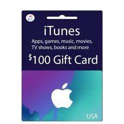 Itunes US Dollar Gift Card - 100 Dollar