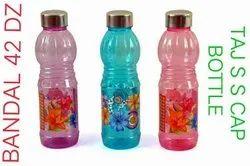 Printed PET Water Bottle, Capacity: 1000 Ml