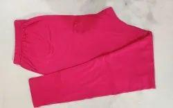 Cotton Straight Fit Pink Ladies Legging