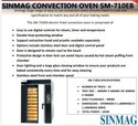 Sinmag Convection Oven