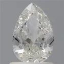 Pear 1ct H SI2 GIA Certified Natural Diamond