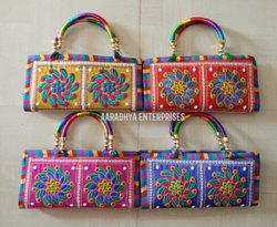 Embroidered Ladies Handbags For Wedding Gifts