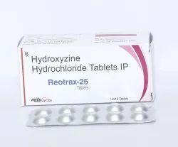 Hydroxyzine Hydrochloride 25mg