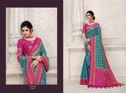 Reynolds Saree Noor Series 1001-1010 Stylish Silk Heavy Saree