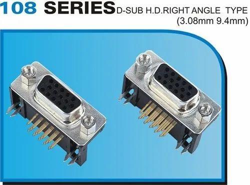 D Sub VGA Right Angle Type
