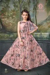 Girl Kids Designer Gown