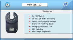Diagnostic Vein Detector Vein Finder, Standard Box Pack, Non Prescription