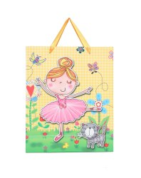 Cartoon Print Carry Bag, For Shopping, Capacity: 2kg