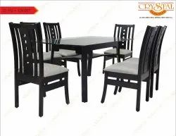 Wenge Process Wood Dinning Set, For Home