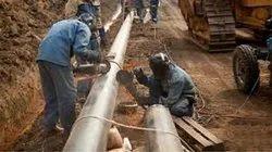 Steel S.s. Pipeline Construction, in Pune