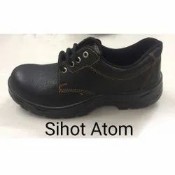 Sihoth Atom PU Leather Safety / Industrial Shoes