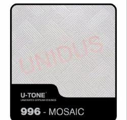 996-Mosaic PVC Laminated Gypsum Ceiling Tile