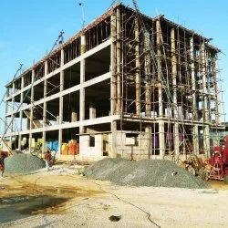 Concrete Frame Structures Industrial Building Construction Service, in Pan India