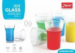 Apex Jal Glass 6 Pcs set