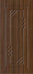 Anni Doors Coffee Brown Membrane Door, For Office, Door Height: 6.2 Feet