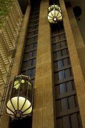 Hydraulic Capsule Glass Elevator