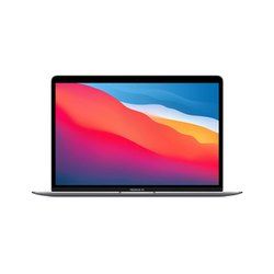 New Apple MacBook Air With Apple M1 Chip (13-inch, 8GB RAM, 256GB SSD) - Space Grey (Latest Model)