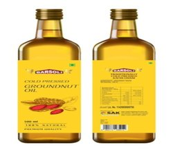 Cold Pressed Groundnut Oil, 500 Ml