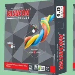 Vasucon PVC Insulated Multi Strand House Wire