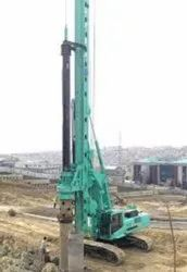 End Bearing Pile Hydraulic Piling Service, 500-1500 Mm