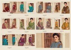 Churidar Designer Pure Cotton Print Patiala Suit