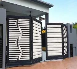 MS Automatic Folding Gate, For Residential