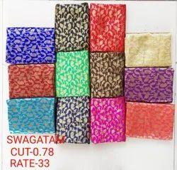 Swagatam Jacquard Blouse Fabric