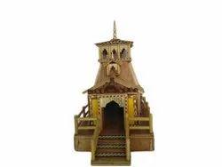 Brown Bamboo Stick Miniature Sculpture Home Decor, For Decoration