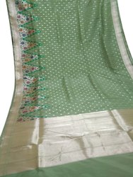 6.4 m ( with blouse piece ) Festive Wear Fancy Banarasi Pathini Border Saree
