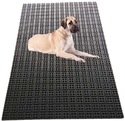 Dog Kennel Anti Skid Mat With Drain Holes (Boxy Mat)