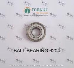 Steel E4. Bearing 6204