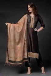 100% Cotton Rajwada Collection Suit, 600 Gm