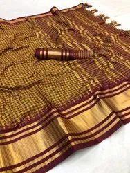 Casual Wear Polyester Cotton Sarees