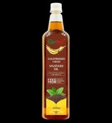 Cold Pressed Virgin Mustard Oil/ kacchi Ghani ka Tel