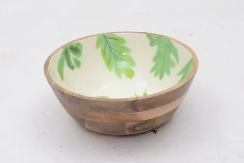 Wooden Kitchen Bowl