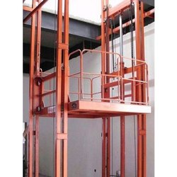 Cage Lift for Material Handling