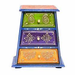 Wooden Decorative Drawers Box Home Decorative Items Handmade Drawers