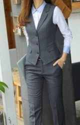 Poly Cotton Women Formal Wear