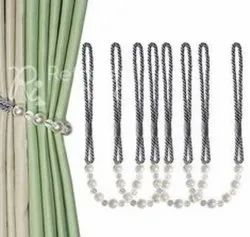 Gorgeous Pearl Beaded Curtain Tieback