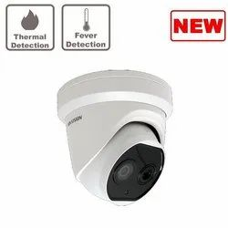Hikvision Thermographic Turret Camera, 6w, Lens Size: 4mm