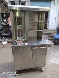 Shawarma Machine Double Burner With Deluxe Quality