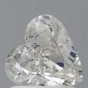 Heart 1ct H SI2 GIA Certified Natural Diamond