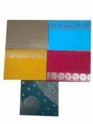 Multicolor Kraft Paper Fancy Pocket Envelope, Rectangle, Size: 6.5x4.5 Inches
