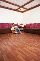 Wood Finish Wooden Laminate Flooring, Size/Dimension: 2.0 Mtr X 20 Mtr Or 15 Mtr, Thickness: 1.6 Mm
