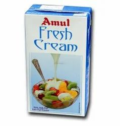 Cool And Dry Place Amul Fresh Cream, For Cooking, Quantity Per Pack: 750 Ml