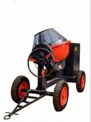 Concrete Mixer Machine Movable Type With Diesel Engine