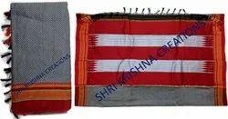Ladies Plain Art Silk Border Saree for Bulk