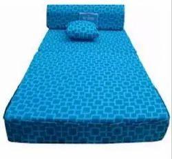 Blue Mattress Fabric